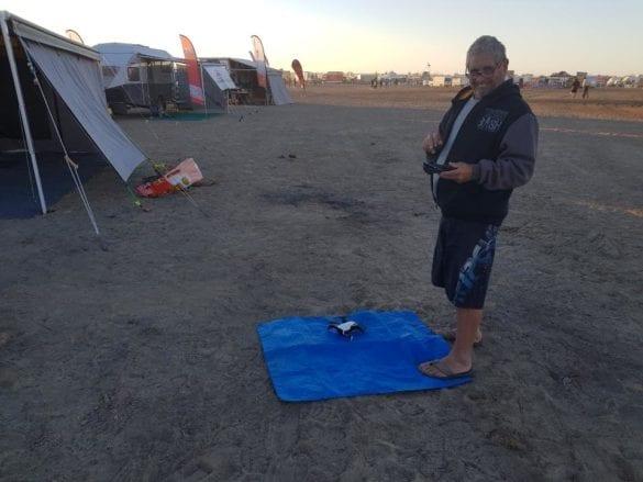 Al and his drone