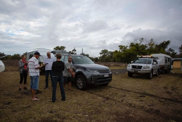 First camp at the Weir at Chinchilla