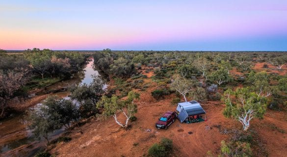 Vicky Herring - Murchison River Free Camp